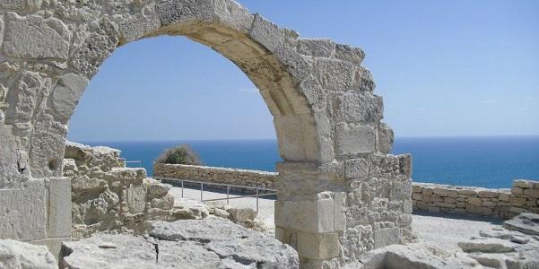 Rovine della fortezza bizantina di Santa Kolones, Nea Pafos