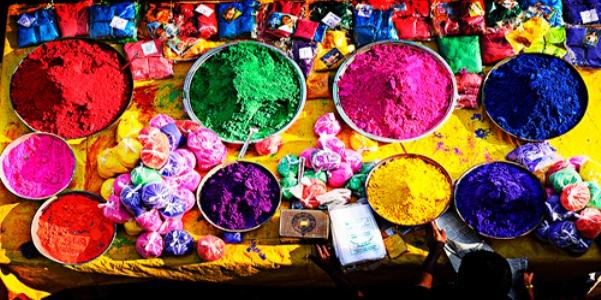 Pigmenti e polveri colorate