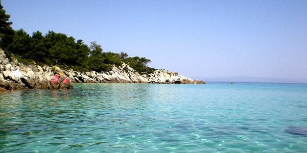 Kavourotripes, la spiaggia più bella (vicino a Sarti)