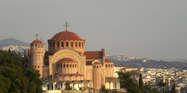 Thessaloniki - Salonicco: vista dalla città vecchia