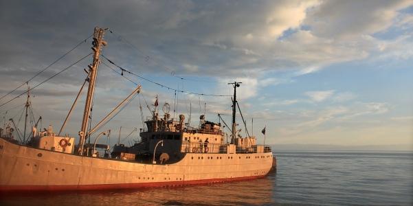 Nave trasporto merci siberiana