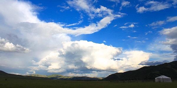 GHER, la casa bianca dei mongoli: 20mq che contengono un universo
