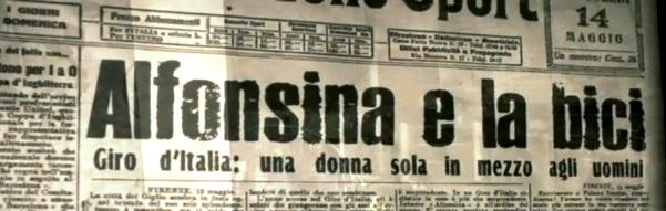 Alfonsina Strada. Suffragetta a pedali