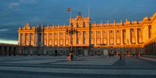 Plaza Armeria al tramonto