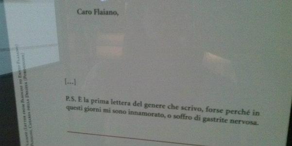 Lettera a Ennio Flaiano