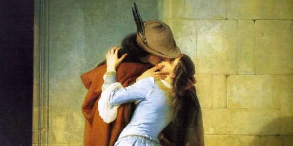 "Francesco Hayez, ""Il bacio"", 1859"