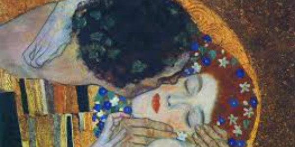 "Gustave Klimt, ""Il bacio"", 1907"