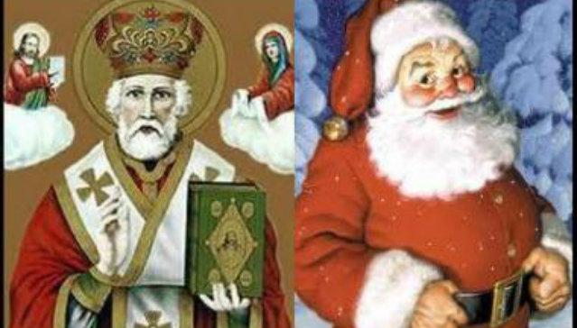 Babbo Natale E San Nicola.Aspettando Babbo Natale E Il Momento Di Festeggiare San