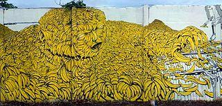 3. El hombre banano, Avenida Bolovar Managua