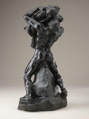 (CLAUDEL) Rodin, Je suis belle (bronzo 1882), bronzo