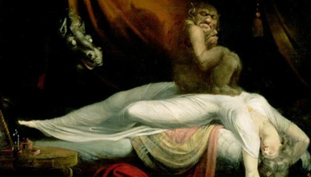Statue notturne: la paralisi del sonno