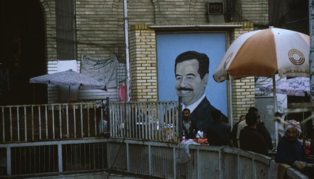 Le effigi di Saddam