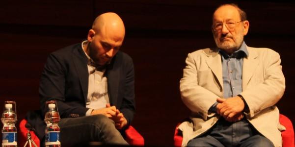 Roberto Saviano e Umberto Eco