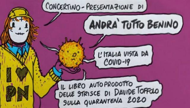 Davide Toffolo tra musica e fumetto: UploadOnTour 2020 parte da Rovereto