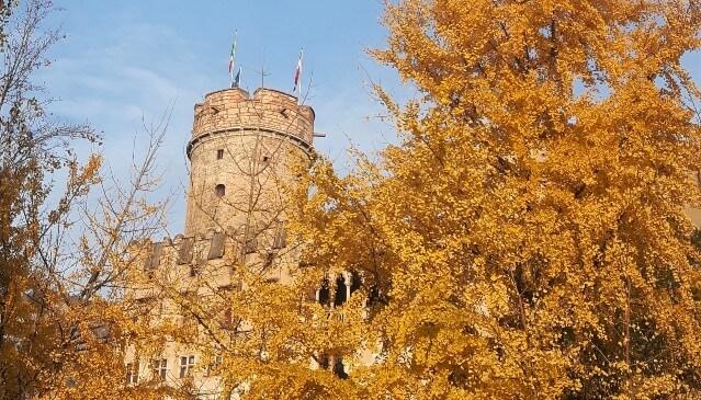 L'occhio su Trento: uno scorcio sul Castello del Buonconsiglio