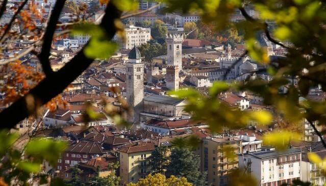 L'occhio su Trento: la città dalle trentatré torri
